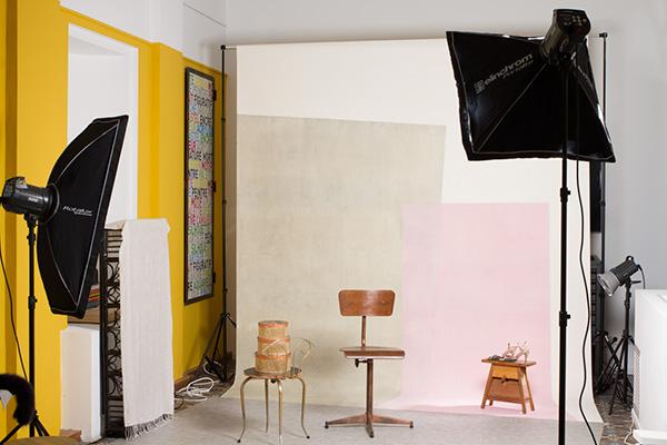 Décor studio Musée Cantini, Man Ray et la mode, Marseille 2019