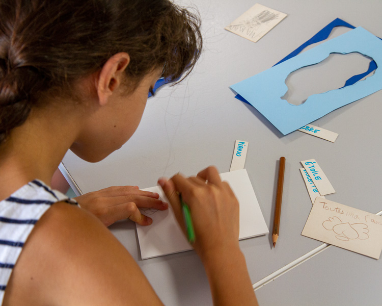 Atelier enfants photo et arts plastiques